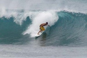 Hawaii surfing