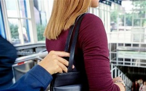 beware of pickpockets