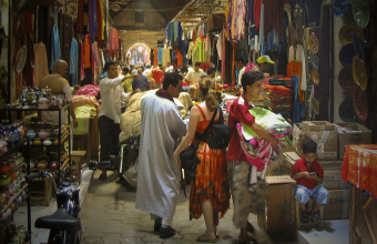 haggling in the souks