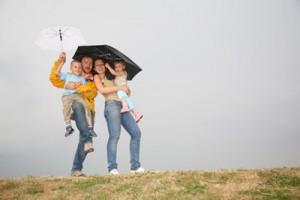 holiday with rain