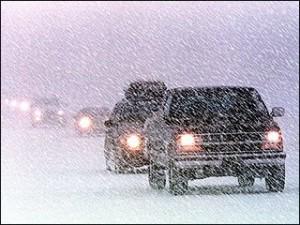winter road hazards