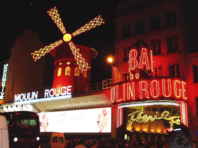 Moulin Rouge cabarets