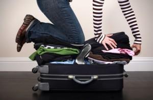 Prepare suitcase efficiently