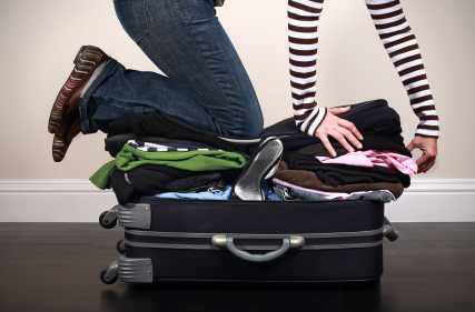 Prepare suitcase efficiently