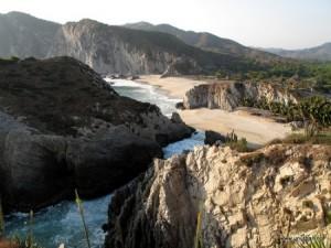 Maruata beach
