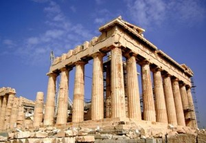 Parthenon building