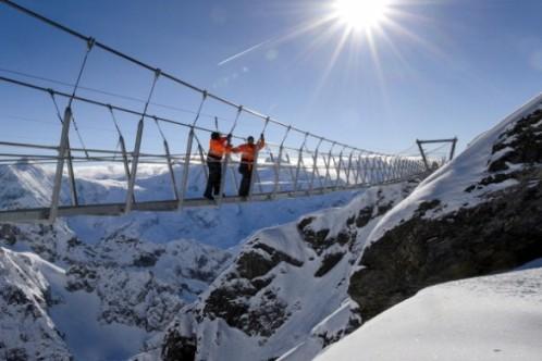 highest suspension bridge