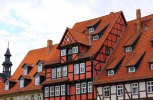 old houses in Quedlinburg