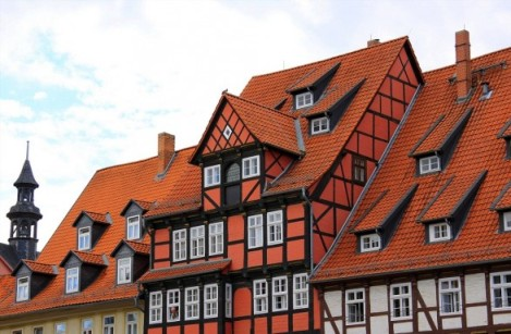 old houses in Quedlinburg