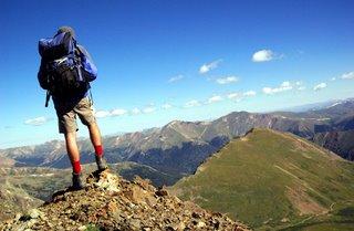 prepare hiking backpack
