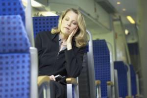 avoid dizziness on a trip