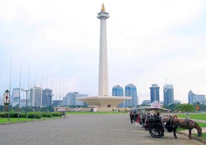 visiting Jakarta