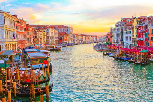 venice romantic destination