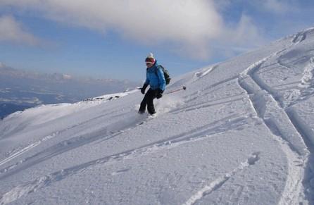 skiing in Innsbruck