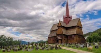 wooden church ringebu