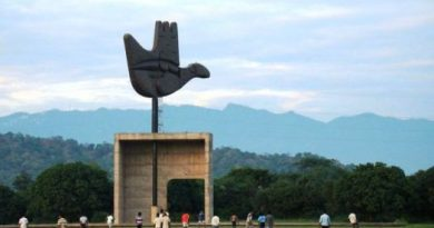 Chandigarh, the ideal city of Le Corbusier in India