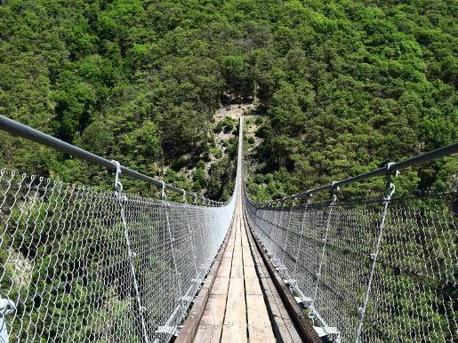 Switzerland: Cross the Tibetan bridge