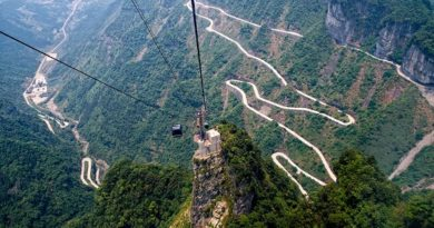 China: The Gates of Paradise at Mount Tianmen