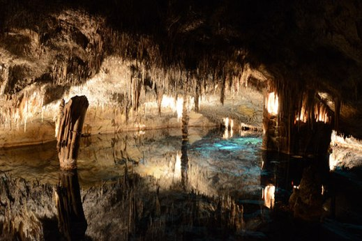Spain: The Caves of Drach, in Majorca