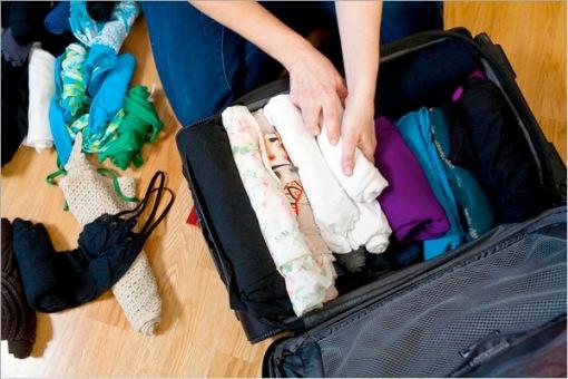 prepare sushi suitcase